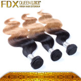 7A aucun Tangle Style indien Body Wave Human Hair (FDX-SM-2016-3)