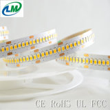 Indicatore luminoso di striscia flessibile di Epistar LED di doppio strato (LM3528-WN240-WW-S-24V)