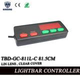 815mm 12V (TBD-GC-811L-C 815mm)에 있는 Tir 린 렌즈를 가진 번쩍이는 기만항법보조 32 인치 호박색 LED 경고