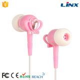 Auriculares rosados al por mayor de la suposición del color para las muchachas