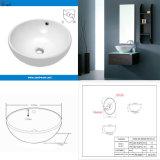 Bacia sanitária do banheiro dos mercadorias cerâmica acima do dissipador contrário (SN127-516)