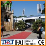 贅沢で明確なTente Transparente展覧会の玄関ひさしのテント