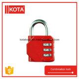 Замок номера комбинации багажа почтового ящика безопасности