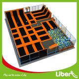 Alta qualità Indoor Big Trampoline Gym per Teenager