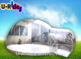 اثنان مدخل قابل للنفخ فقاعات خيمة