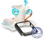 Coperchio astuto della cassa del telefono della vigilanza della nuova di arrivo fibra del carbonio