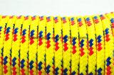 Corda Braided d'imballaggio 6mm del tessuto non tessuto del polipropilene