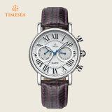 Horloge het Van uitstekende kwaliteit van het Roestvrij staal van de manier voor Dames 71127