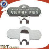 Clip magnético del sombrero del golf con el marcador de encargo de la bola de la impresión (FTGF1815A)