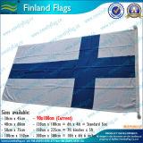 Bandeira de país impressa tela de Finlandia da bandeira do poliéster (M-NF05F09029)