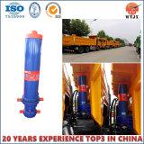 Cylindre de frontal pour le cylindre hydraulique de camion à benne basculante de remorque