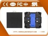 Abt P3.91 hoher Auflösung-Leichtgewichtler druckgegossene Innenmiete LED-Bildschirmanzeige