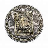 Fertigung Souvenir Challenge Coin mit Dual Palting Finish