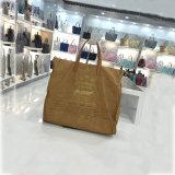 5개의 색깔 고품질 세척한 Kraft 봉투는 자루에 넣는다 어깨에 매는 가방 핸드백 (A083)를