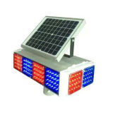 Solar Traffic Light Signal / LED piscando Luz
