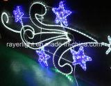 3 철사 밧줄 빛 크리스마스와 Halloween 옥외 장식적인 빛