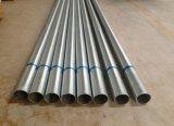 Eje/barril de acero galvanizados/árbol para la puerta de la persiana enrrollable