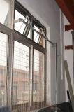 Guichet en aluminium de tente de profil de couleur grise enduite de poudre de la qualité Kz356 avec le traitement détraqué