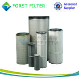 Forst che sostituisce la cartuccia di filtro dal compressore d'aria di Torit