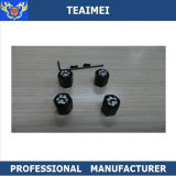 Tampões de válvula contra-roubo do pneu do carro do ar do metal do tanoeiro da venda direta da manufatura
