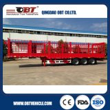 Sale caliente Three Axle los 40FT Side Wall Flatbed Semi Trailer