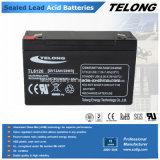 재충전용 Sealed Lead Acid Battery 6V 12ah
