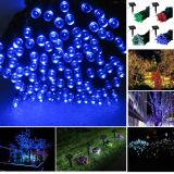 Solarzeichenkette-Licht 8 Farben-LED für Weihnachten und Feiertage