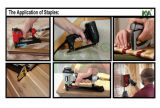 Pneumatische 71 Gegalvaniseerde Nietjes voor Meubilair en Verpakking