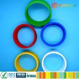 13.56MHz Wristband flexível do silicone do HF ISO14443A RFID