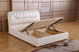 Mobilia di cuoio moderna della camera da letto