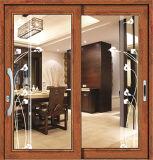 120-120 puerta deslizante de aluminio de la serie 2.0m m para la sala de estar