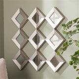 ホーム装飾のための卸し売り米国式の菱形の組み立てられた壁ミラー