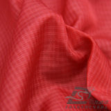 Água & para baixo revestimento Vento-Resistente tela composta tecida do filamento da poliamida Dobro-Listrada do poliéster do jacquard da manta (X013)