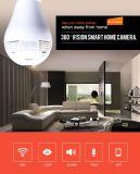 AC 100-240V Camera van de Bol van de Wolk WiFi de Draadloze Fisheye Slimme met de Bidirectionele Groef van de Kaart van de Audio en Micro- BR