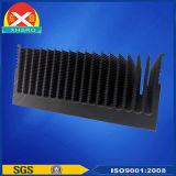 Schwärzender Oberflächenbehandlung-Aluminiumkühlkörper für Energien-Halbleiterelement