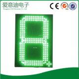 Tablilla de anuncios del precio del segmento del color rojo LED 7
