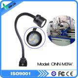 Luz del cuello de cisne de la luz IP65 del trabajo de la máquina de M3w 24V/de 100-240V LED