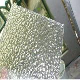 Folha plástica contínua gravada do policarbonato do PC do teste padrão