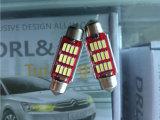 Bóveda interior del coche del blanco 36-3528 6*6 SMD LED del panel que lee la lámpara de las bombillas