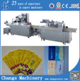 Sale를 위한 Sjb-250A Custom Vertical Automatic Wet Wipes Napkin Tissues Packaging Machine