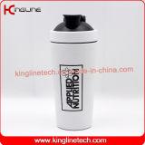 frascos feitos sob encomenda do abanador da proteína do aço 750ml 304 inoxidável (KL-7068)