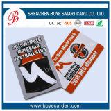 2015 populares de PVC tarjeta menbership tarjeta / Fidelidad