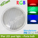 DC12V IP68   Luz controlable de la piscina de IP68 LED PAR56 Light/DMX512 LED PAR56