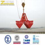 電気ロープのクラムシェルの沖合いの/Shipyard/の海Grab
