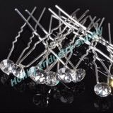 U Shade Wedding Bridal Crystal Rhinestone Diamante Hairpin