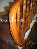 フォーシャンMD Khの熱い販売の純木のステアケースの手すり