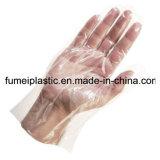 0.5g gefaltete Wegwerfnahrungsmittelservice transparente PET Handschuhe