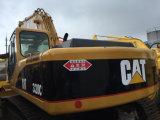 Construção de segunda mão usada da lagarta da máquina escavadora do gato 320c
