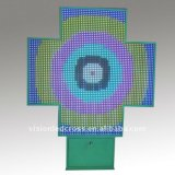 3D LED Pharmacy Cross Sign 130*130cm Big LED Cross Crucifix