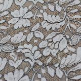 Merletto di nylon del ricamo del piatto di caduta di stirata per gli accessori ed i vestiti degli indumenti